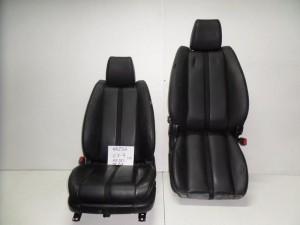 Mazda cx7 07-11 κάθισμα εμπρός με airbag αριστερό-δεξί μαύρο (δερμάτινα)