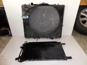 Mitsubishi pajero 01-07 2.5cc diesel ψυγείο κομπλέ (νερού-air condition)