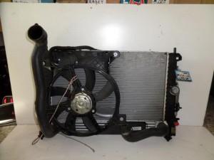 Opel meriva 03-10 diesel 1.7cc ψυγείο κομπλέ (νερού-air condition-βεντιλατέρ-intercooler)