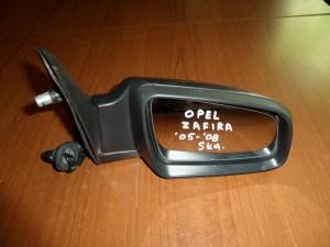 Opel zafira 05-08 ηλεκτρικός καθρέπτης δεξιός γκρί (5 καλώδια)