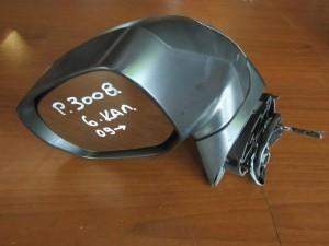Peugeot 3008 09 ηλεκτρικός καθρέπτης αριστερός γκρί (6 καλώδια-1 φίς)