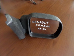 Renault kangoo 98-03 μηχανικός καθρέπτης δεξιός άβαφος