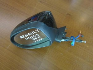 Renault modus 08 ηλεκτρικός καθρέπτης αριστερός μαύρος (7 καλώδια)