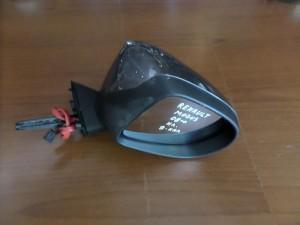 Renault modus 08 ηλεκτρικός καθρέπτης δεξιός σκούρο ασημί (9 ακίδες)