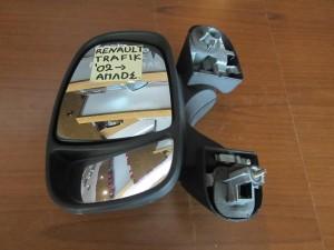 Renault traffic 2002-2014 απλός καθρέπτης αριστερός άβαφος
