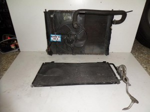 Rover 45 2000 1.6cc diesel ψυγείο κομπλέ (νερού-air condition-βεντιλατέρ)