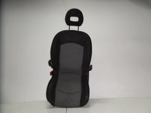 Skoda octavia 5 04-08 κάθισμα εμπρός με airbag αριστερό γκρί σκούρο
