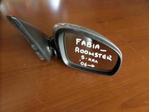 Skoda roomster 06 ηλεκτρικός καθρέπτης δεξιός ασημί (5 καλώδια)