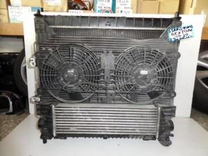 SsangYong rexton 04-10 2.9cc diesel ψυγείο κομπλέ (νερού-aircondition-βεντιλατέρ-intercooler)