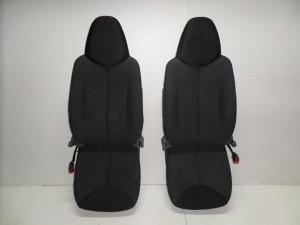 Toyota aygo-Citroen C1-Peugeot 107 06 κάθισμα εμπρός αριστερό-δεξί με airbag γκρί σκούρο
