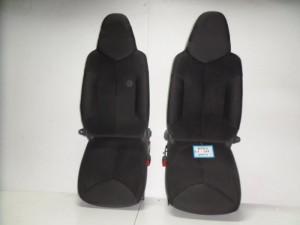 Toyota aygo-Citroen C1-Peugeot 107 06 κάθισμα εμπρός με airbag αριστερό-δεξί μαύρο