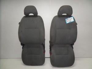 Toyota prius 04-09 κάθισμα εμπρός με airbag αριστερό-δεξί ανοιχτό γκρί