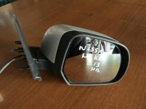Nissan micra k13 2011 ηλεκτρικός καθρέπτης δεξιός ασημί