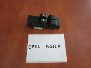 Opel agila 08 διακόπτης παραθύρων εμπρός αριστερός (τετραπλός)