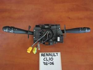 Renault clio 01-06 διακόπτης φώτων-φλάς και υαλοκαθαριστήρων