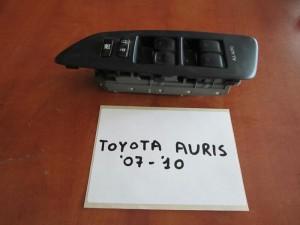 Toyota auris 07-10 διακόπτης παραθύρων εμπρός αριστερός (τετραπλός)