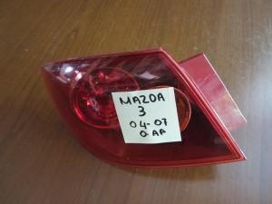 Mazda 3 04-07 5θυρο πίσω αριστερό φανάρι