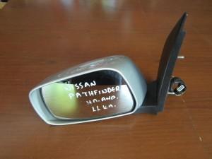Nissan Pathfinder 2005-2012 ηλεκτρικός ανακλινόμενος καθρέπτης αριστερός ασημί (11 καλώδια)