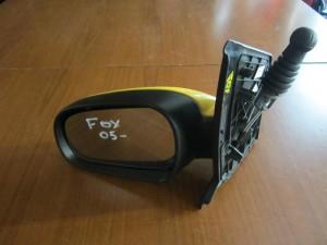 VW fox 05 μηχανικός καθρέφτης αριστερός κίτρινος