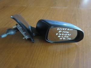 Nissan pixo 09-14 μηχανικός καθρέφτης δεξιός γκρί-μπλέ