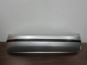 Skoda fabia 98-07 πίσω προφυλακτήρας ασημί