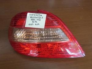 Toyota avensis 00-02 5θυρο πίσω φανάρι αριστερό