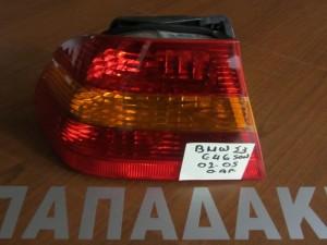 BMW series 3 E46 sedan 02-05 αριστερό πίσω φανάρι πορτοκαλί φλάς