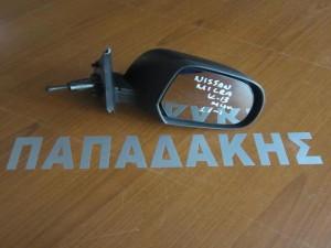 Nissan micra k13 2011 μηχανικός καθρέφτης δεξιός άβαφος