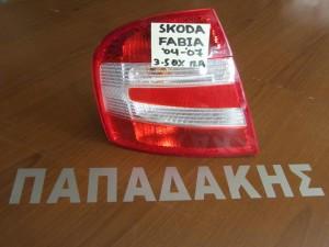 Skoda Fabia 04-07 3θυρο-5θυρο πίσω φανάρι αριστερό