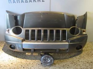 Jeep compass 2007-2011 μούρη εμπρός κομπλέ χρυσαφί