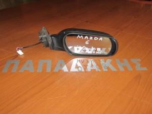 Mazda 6 2002-2008 ηλεκτρικός ανακλινόμενος καθρέφτης δεξιός γκρί
