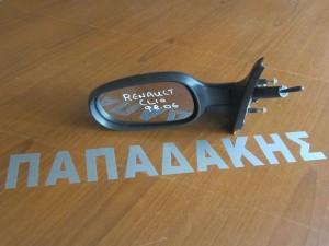 Renault clio 2001-2006 μηχανικός καθρέφτης αριστερός σκούρο μπλέ