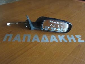 Toyota avensis 2003-2006 ηλεκτρικός ανακλινόμενος καθρέφτης δεξιός μπλέ