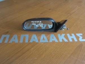 Toyota corolla AE101 1992-1996 μηχανικός καθρέφτης αριστερός άβαφος