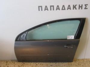 VW golf 5 2004-2008 αριστερή πόρτα εμπρός γκρί