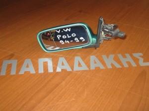 VW polo 1994-1999 μηχανικός καθρέφτης αριστερός πράσινος