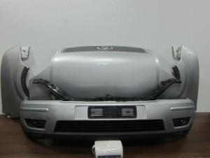 Ford fusion 2002-2006 μετώπη-μούρη εμπρός κομπλέ ασημί