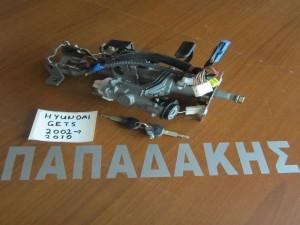 Hyundai getz 2002-2005 (2006-2010) άξονας τιμονιού με διακόπτη μίζας *