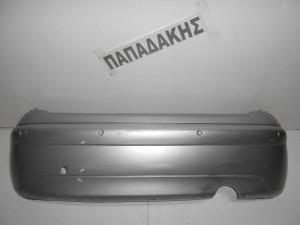 Citroen C3 2002-2010 προφυλακτήρας οπίσθιος με αισθητήρα ασημί
