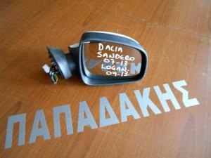 Dacia Sandero 2007-2012 Dacia Logan 2008-2012 ηλεκτρικός καθρέπτης δεξιός άσπρος