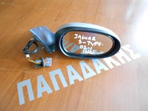 Jaguar S-type 2002--> ηλεκτρικός καθρέπτης δεξιός ανακλινόμενος 12 καλώδια ασημί