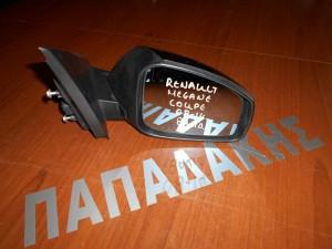 Renault Megane  2008-2014 coupe καθρέπτης εξωτερικός δεξιός 8 ακίδων μαύρος