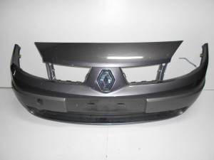 Renault Scenic 2003-2005 προφυλακτήρας εμπρός γκρι