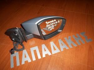 Skoda Octavia-6 2013--> ηλεκτρικός καθρέπτης εξωτερικός δεξιός ασημί