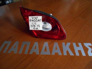 VW Passat CC 2008-2012 φανάρι οπίσθιο αριστερό εσωτερικό