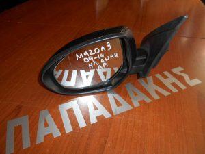 Mazda 3 2009-2013 καθρέπτης αριστερός ηλεκτρικός ανάκληση μολυβί