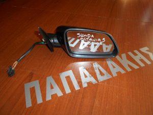 Skoda Octavia 5 2004-2008 καθρέπτης δεξιός ηλεκτρικός κ φως ασφαλείας μολυβί
