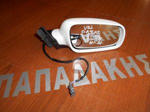 VW Passat 1997-2000 καθρέπτης δεξιός ηλεκτρικός άσπρος