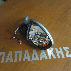 Peugeot 2008 2014- καθρέπτης δεξιός ηλεκτρικός ανακλινόμενος 11 καλώδια 2 φις γκρι
