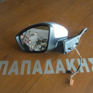 Peugeot 208 2012-2016 καθρέπτης αριστερός 7 καλώδια 2 φις ασημί